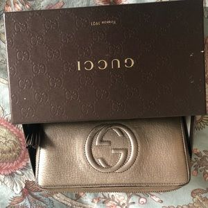 Authentic Gucci Soho Wallet